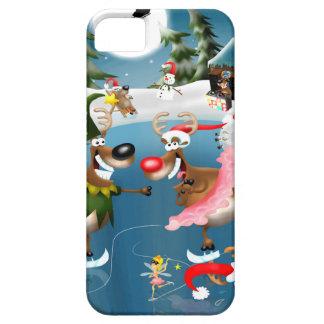 Reindeer winter wonderland iPhone 5 cases