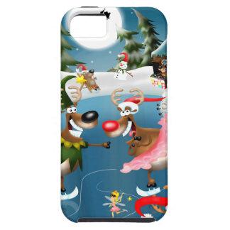 Reindeer winter wonderland iPhone 5 cover