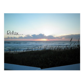 Relax... Ocean Breezes Postcard