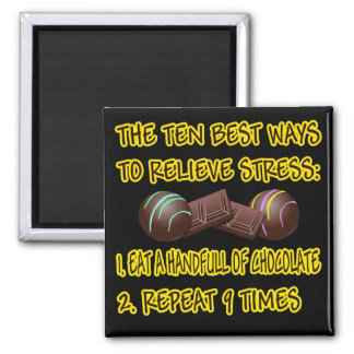 RELIEVE STRESS SQUARE MAGNET
