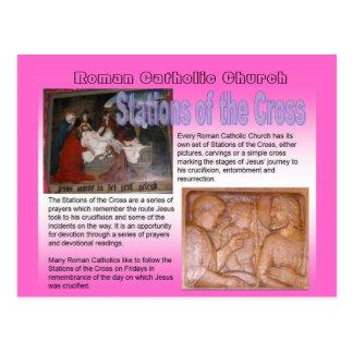 Religion, Roman Catholic Church, Stations of Cross Postcard