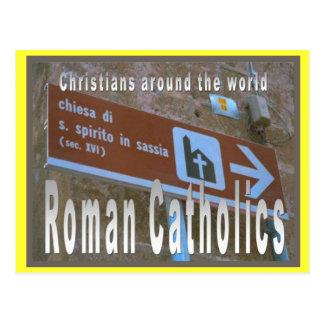 Religion, Roman Catholic Churches around the world Postcard