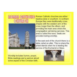 Religion,  Roman Catholic Churches Postcard