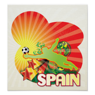 Remember SPAIN world Cup 2010 Champions Poster