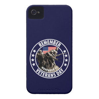 Remember Veterans Day iPhone 4 Case-Mate Case