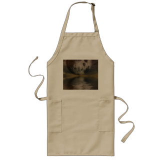 Rendition of the Moon Over Water Long Apron
