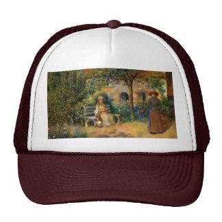 Renoir: Scene of the Garden in Brittany Cap