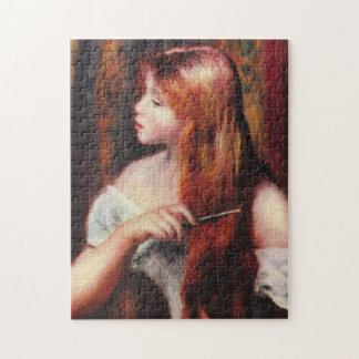 Renoir Young Girl Combing Her Hair Puzzle