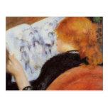 Renoir: Young Woman Reading Postcard