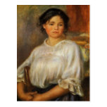 Renoir's Young Woman Seated Postcard