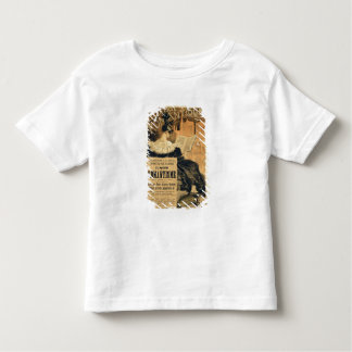 Reproduction of a poster advertising a book entitl shirts