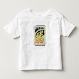 Reproduction of a poster advertising 'The Rainbow' Tshirts