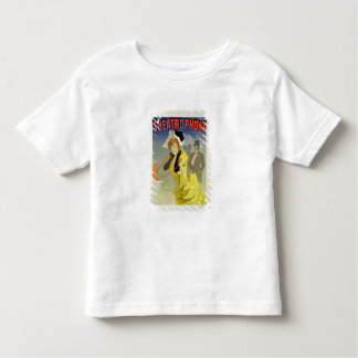 Reproduction of a poster advertising 'Theatrophone Tee Shirts