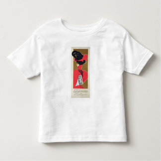Reproduction of a poster advertising 'Zlata Praha' Tshirts