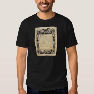 Reproduction of the Emancipation Proclamation Shirts