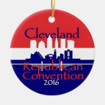 Republican 2016 Convention Round Ceramic Decoration