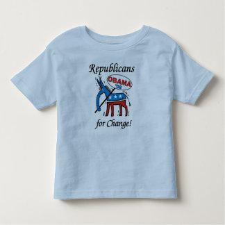 Republicans For Change Vote Obama Toddler T-shirt