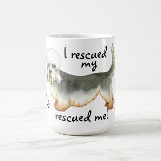 Rescue Dandie Basic White Mug