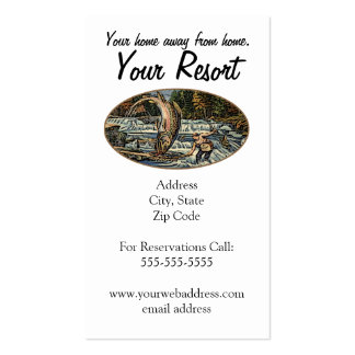 Resort Customize Pack Of Standard Business Cards