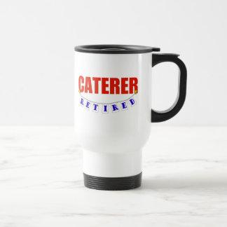 RETIRED CATERER STAINLESS STEEL TRAVEL MUG