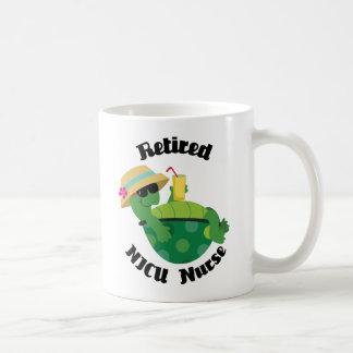 Retired Nicu Nurse (Turtle) Basic White Mug