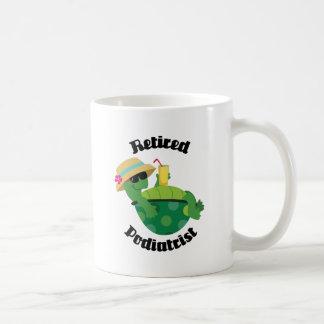 Retired Podiatrist (Turtle) Basic White Mug