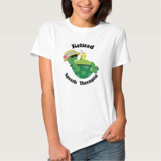 Retired Speech Therapist (Turtle) T-shirts