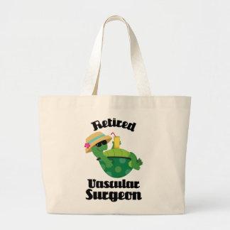 Retired Vascular Surgeon Gift Jumbo Tote Bag