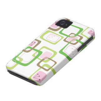 Retro Art Abstract Mod Pattern iPhone 4 CaseMate iPhone 4 Case-Mate Case