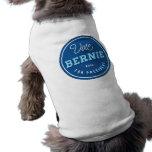 Retro Bernie Sleeveless Dog Shirt