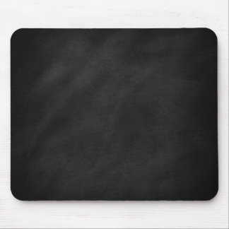 Retro Black Chalkboard Texture Mouse Pad