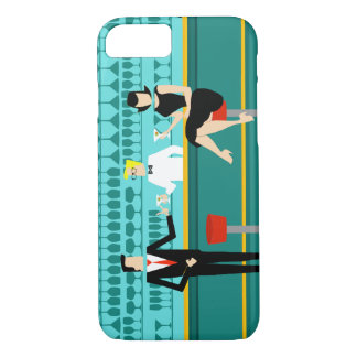 Retro Cocktail Lounge iPhone 7 Barely There Case