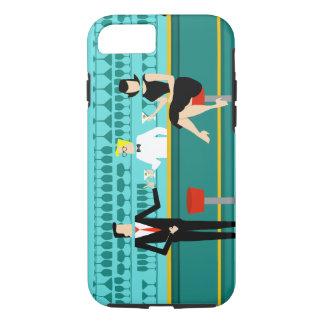 Retro Cocktail Lounge iPhone 7 Case
