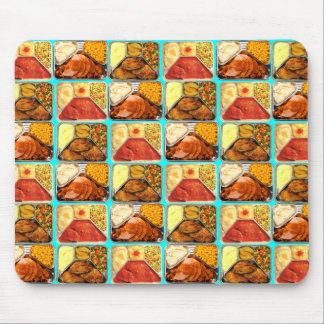 Retro Novelty TV Dinners Trays Mouse Pad