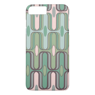 Retro Pod Pastels Abstract Art iPhone CaseMate iPhone 7 Plus Case