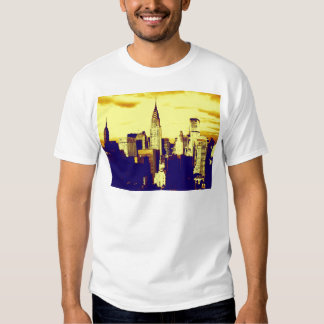 Retro Pop Art Comic New York City Shirts