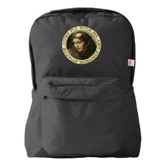 Retro Woman Aviator Backpack
