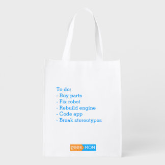 Reusable bag for the makers