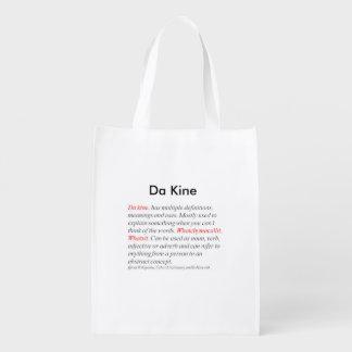 reusable tote bag, w/ custom trade marked logo