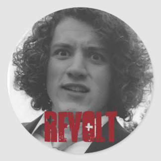 Revolt Round Sticker