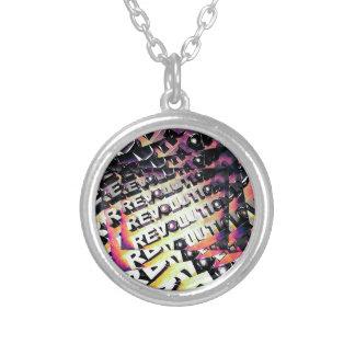 Revolution Round Pendant Necklace