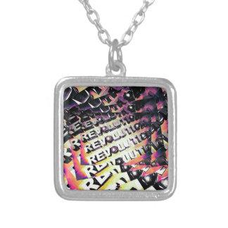 Revolution Square Pendant Necklace