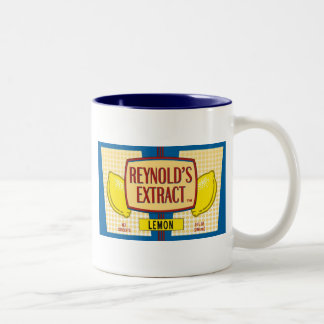 Reynold's Extract Lemon Extract Movie Mike Judge Two-Tone Mug