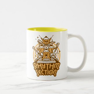 rhythm-section Two-Tone mug