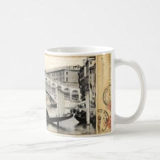 Rialto Bridge, Venice Basic White Mug