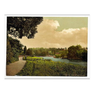 Richmond, view of the Thames, London and suburbs, Postcard