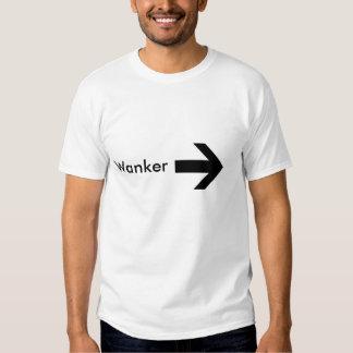 right arrow, Wanker Tshirt
