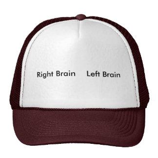 Right Brain    Left Brain Cap