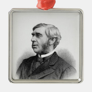 Right Honourable George J. Goschen Silver-Colored Square Decoration