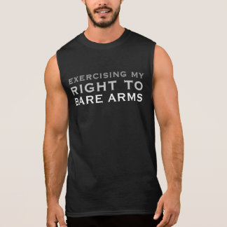 Right to BARE ARMS Sleeveless T-shirt